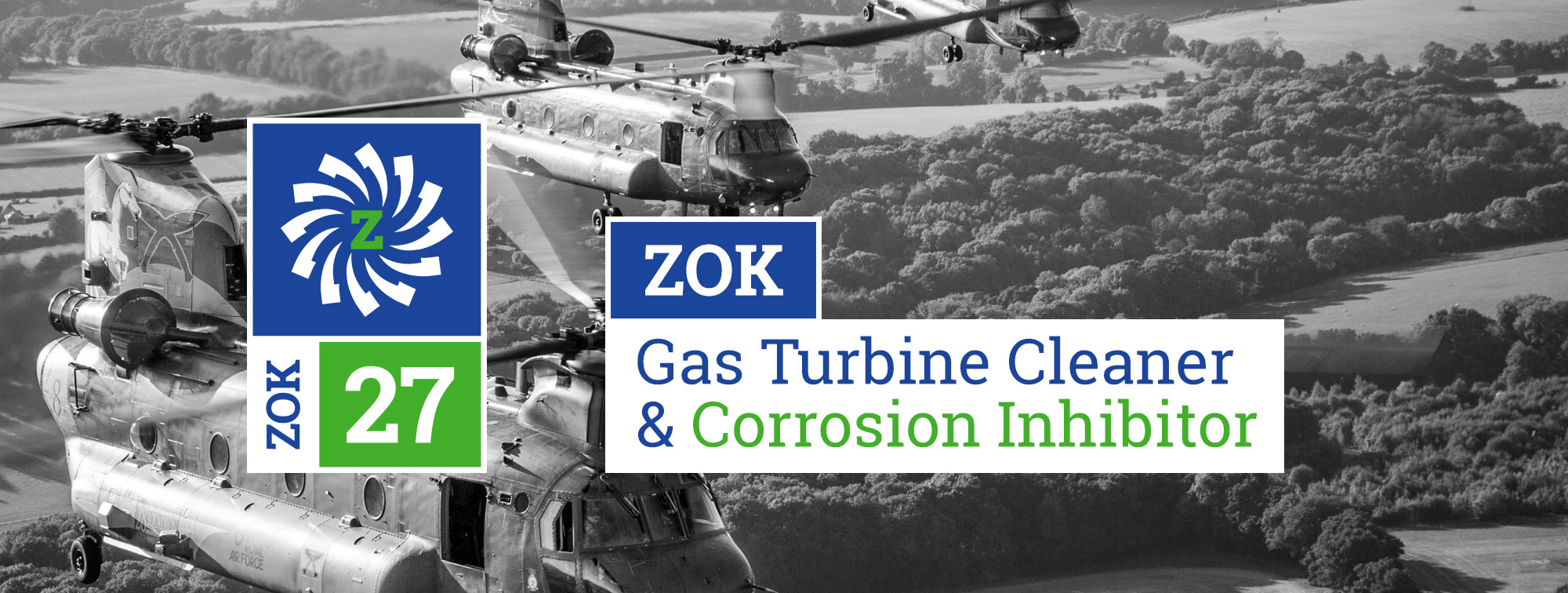 Zok 27 Gas Turbine Cleaner and Corrosion Inhibitor