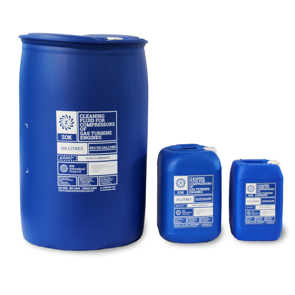 ZOK product containers